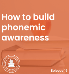 How to build phonemic awareness - The Measured Mom [ 900 x 900 Pixel ]