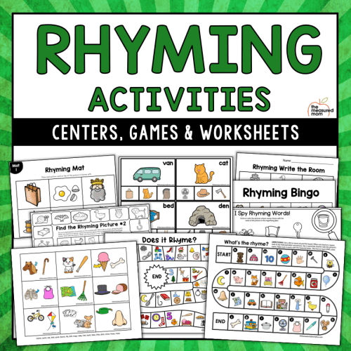 small resolution of Rhyming Activities - The Measured Mom