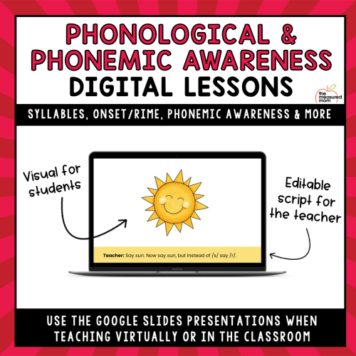 small resolution of Phonological \u0026 Phonemic Awareness Teaching Slides - The Measured Mom