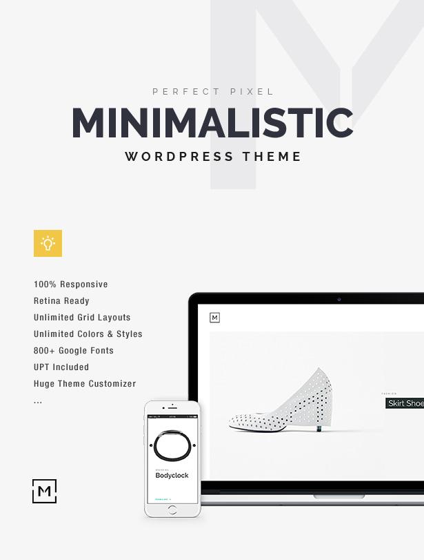 Minilio WordPress Theme
