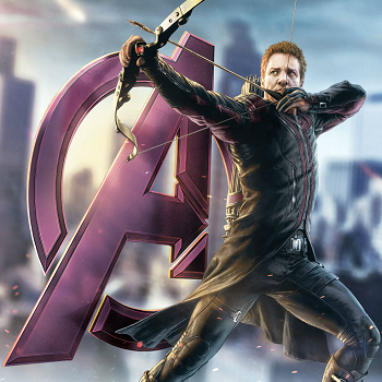 Section features posts about fonts used in logos, films, tv shows, video games, books and more; Jeremy Renner Wants Hawkeye Series On Netflix The Escapist