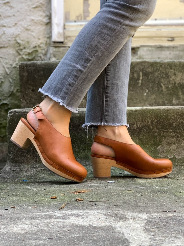 Clogs: The Perfect Wear-With-Everything Shoe For Fall | The Mom Edit