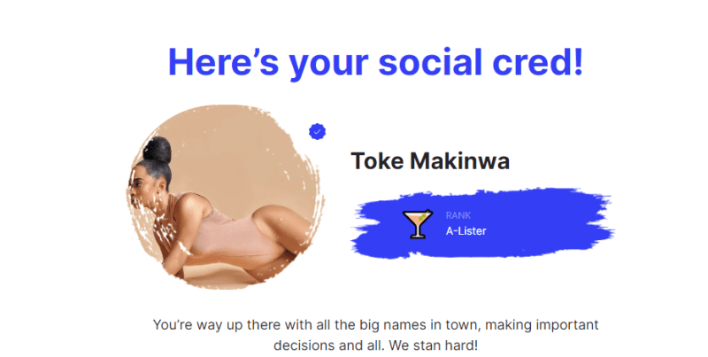 Toke SocialCred