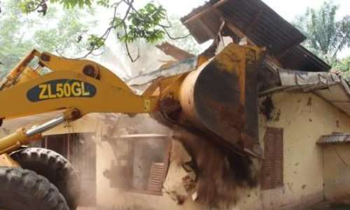 Image result for house demolition in anambra