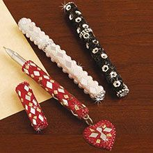Romantic Beaded Pens