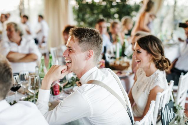 Die Sitzordnung zur Hochzeit  Wer sitzt wo