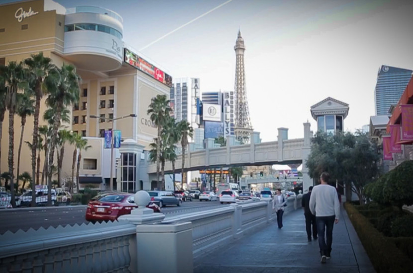 The plan was to walk the 10 minutes to Planet Hollywood that night for the J.Lo show.