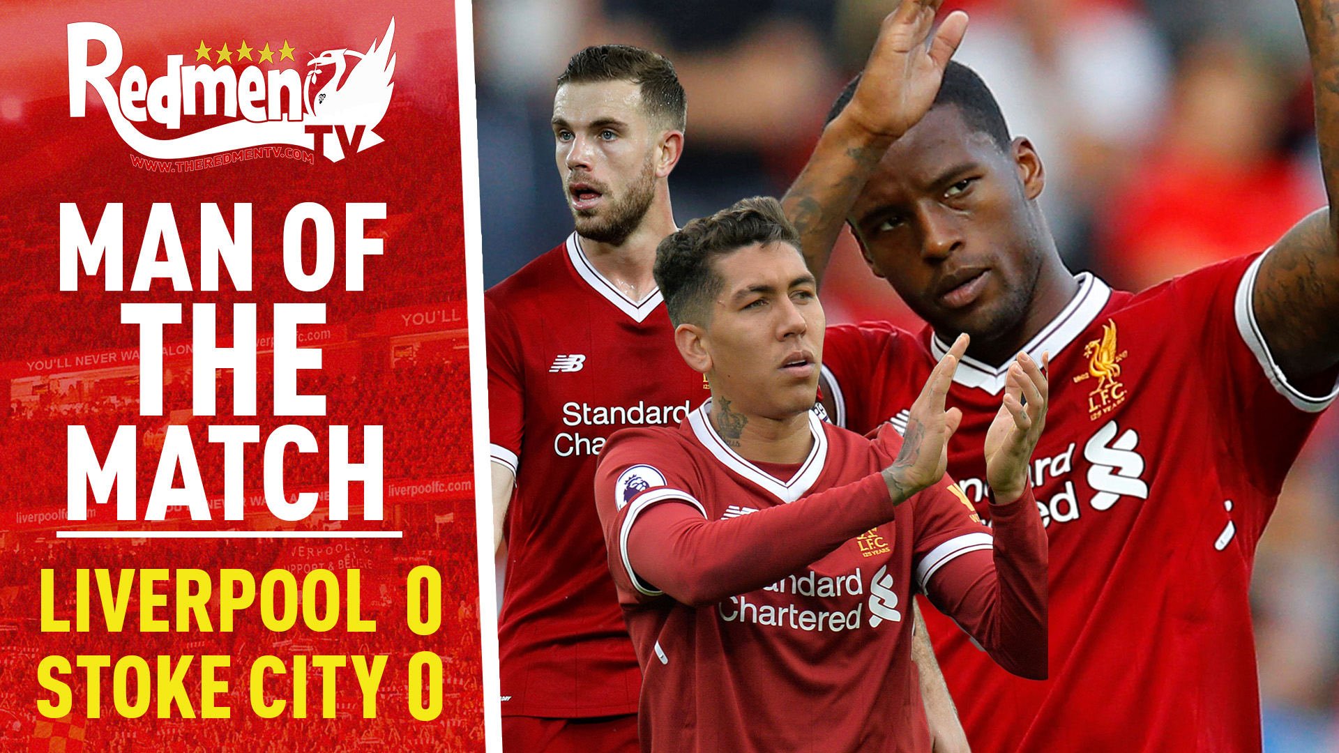 Liverpool 0-0 Stoke | Man of the Match Video Podcast - The Redmen TV