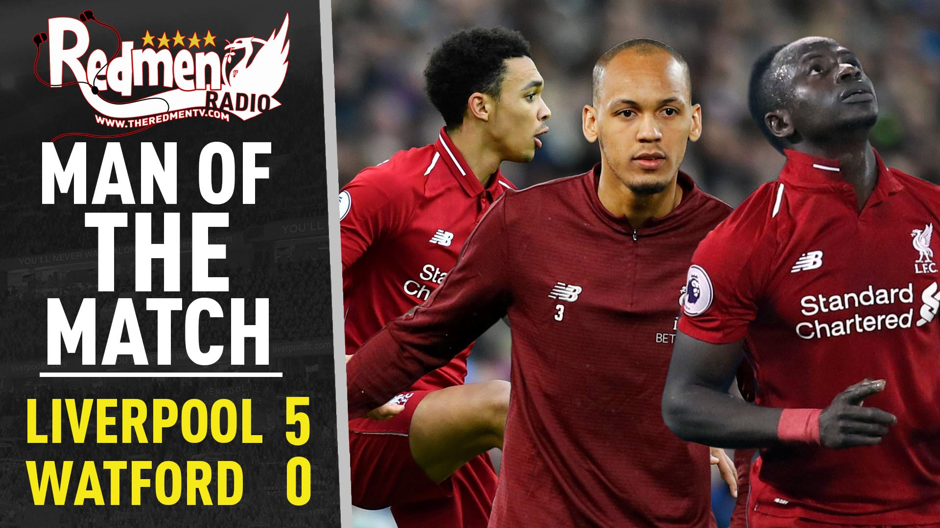 Liverpool 5-0 Watford | Man of the Match Podcast - The Redmen TV