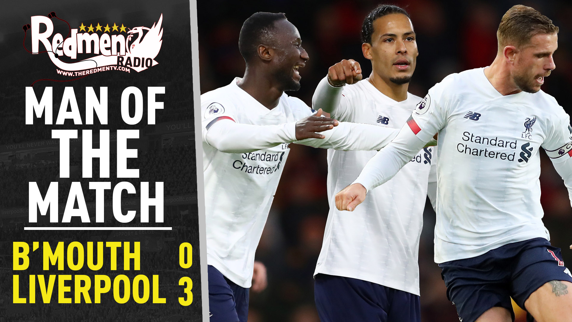 Bournemouth 0-3 Liverpool | Man of the Match Podcast - The Redmen TV