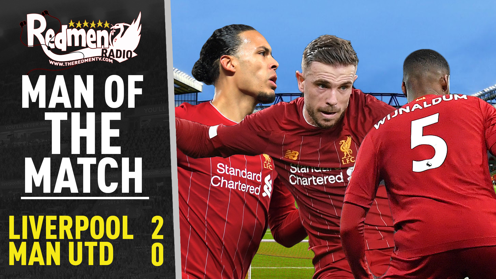 Liverpool 2-0 Man United | Man of the Match Podcast - The Redmen TV