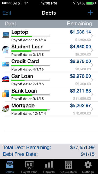 credit card payoff app