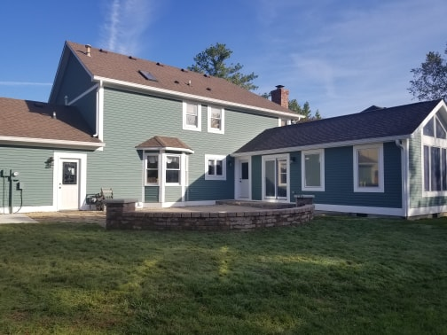 completed home addition