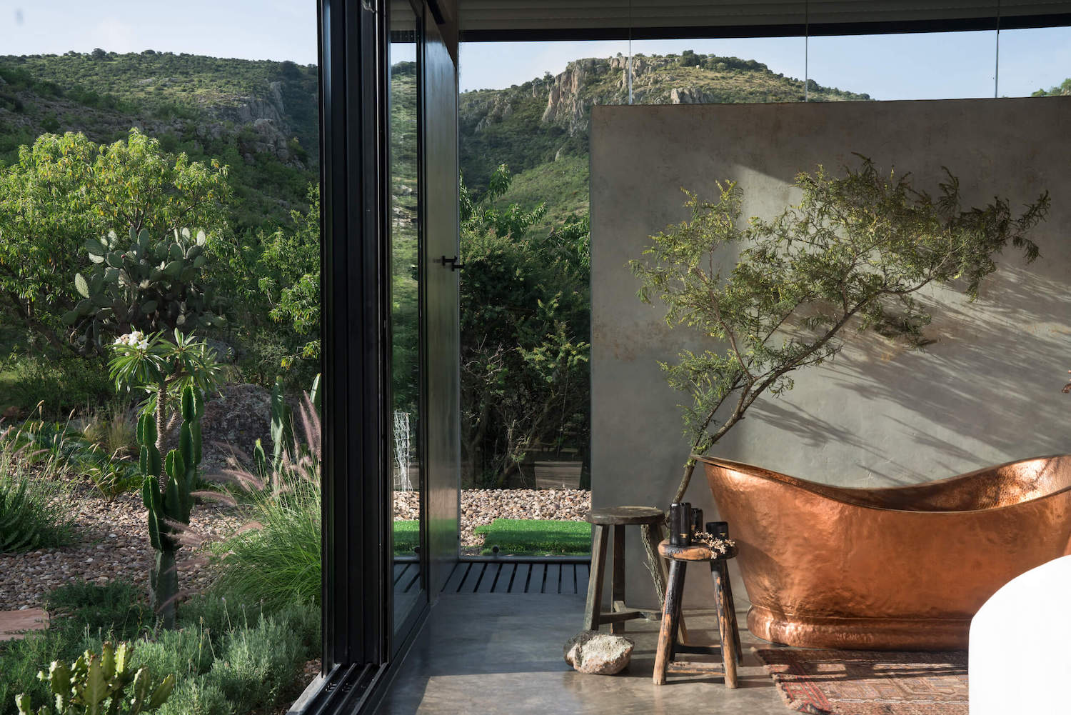 Casa Etérea is a mirrored cabin on the slopes of a volcano in Mexico
