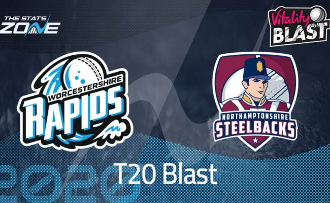 Vitality T20 Blast 2020 Worcestershire Rapids Vs