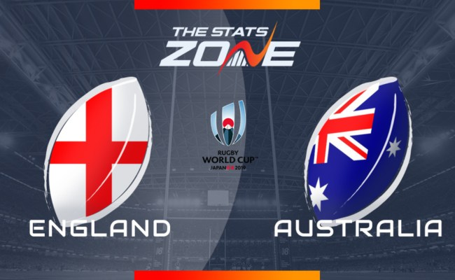 2019 Rugby World Cup England Vs Australia Preview