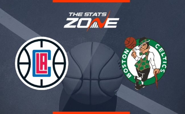 2019 20 Nba Los Angeles Clippers Boston Celtics
