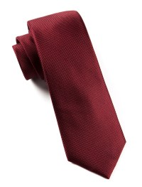 Burgundy Solid Texture Tie | Ties, Bow Ties, and Pocket ...