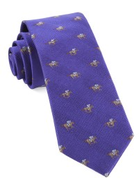 Plum Horse Racing Tie | Ties, Bow Ties, and Pocket Squares ...