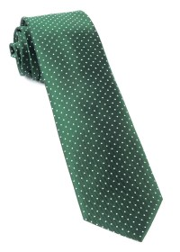 Hunter Green Mini Dots Tie | Ties, Bow Ties, and Pocket ...