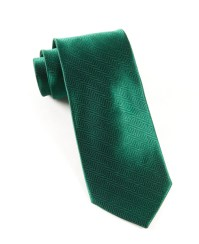 Hunter Green Herringbone Tie | Ties, Bow Ties, and Pocket ...