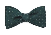 Green Bow Ties - Green Bow Ties - Green / Olive Silk Bowties