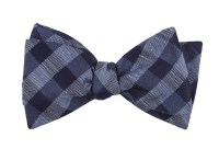 Slate Blue Hale Checks Bow Tie | Ties, Bow Ties, and ...