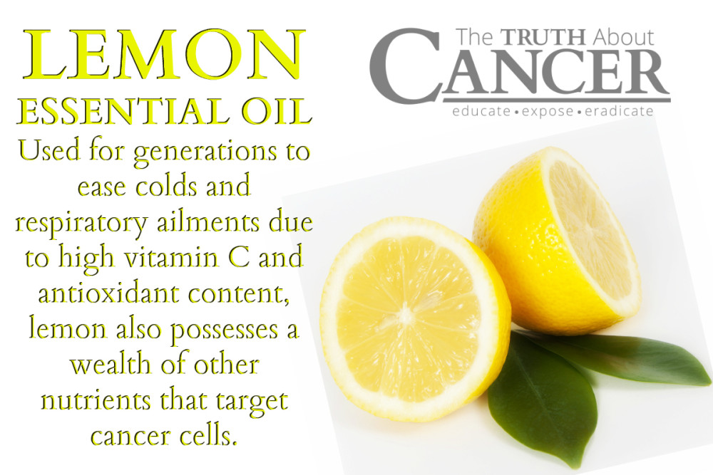 Why Science Is Sweet On Lemon Essential Oil As A Cancer