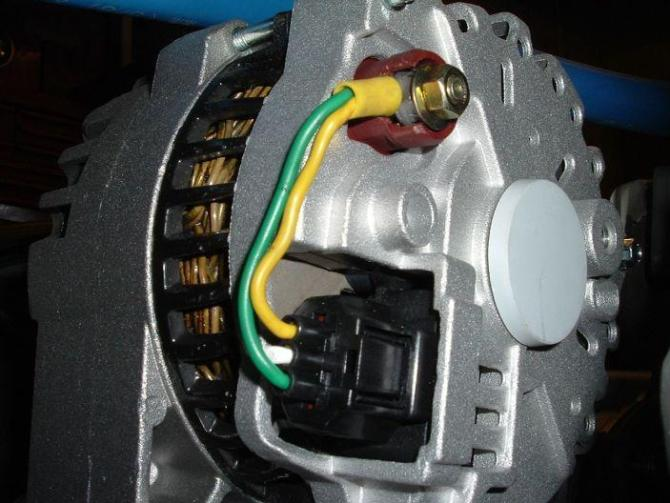 how to wire up this 6g alternator  nonturbo tech questions