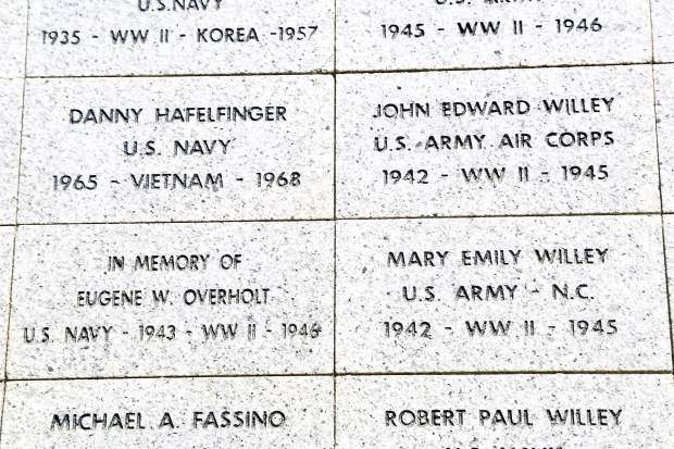 In honor and remembrance: Two additional walls to be added