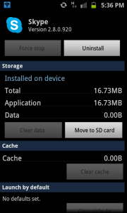 Choose Move to SD card