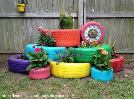 Recycled Tire Ideas The WHOot