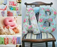 You'll Love This Super Cute Alphabet Pillow DIY | The WHOot