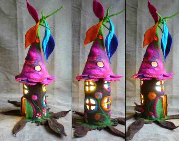 Felt Fairy Houses Magical And Whimsical Whoot