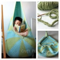 Macrame Hanging Chair DIY Is Super Easy To Make