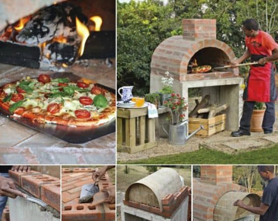 Pizza Oven DIY Brick Instructions Easy Video Tutorial