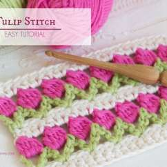 How To Make Crochet Pattern Diagram Battery Selector Switch Wiring Tulip Stitch Video Youtube Instructions Free