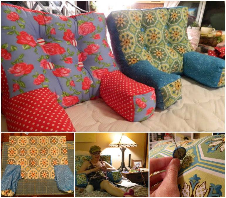 backrest pillows diy perfect for