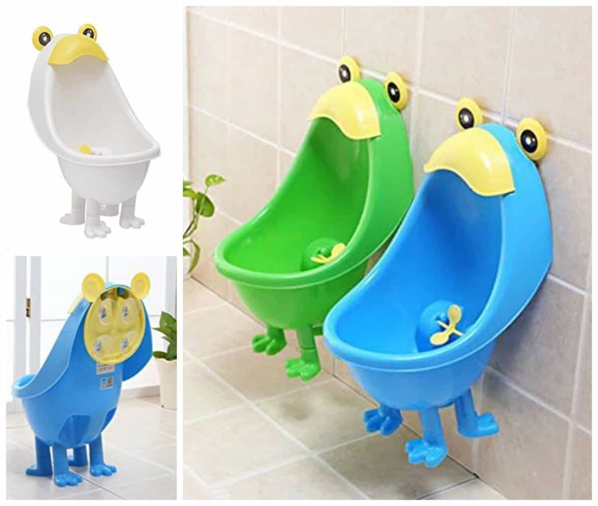 frog potty chair swivel pod these super cute trainers make peeing fun the