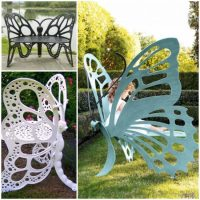 Butterfly Garden Bench Is Absolutely Stunning!