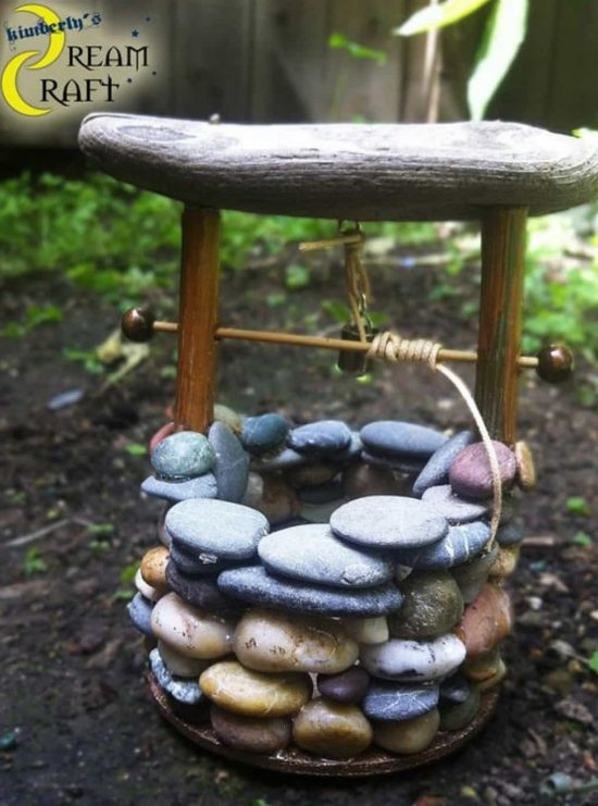 The Sweetest Stone Fairy House Ideas The WHOot