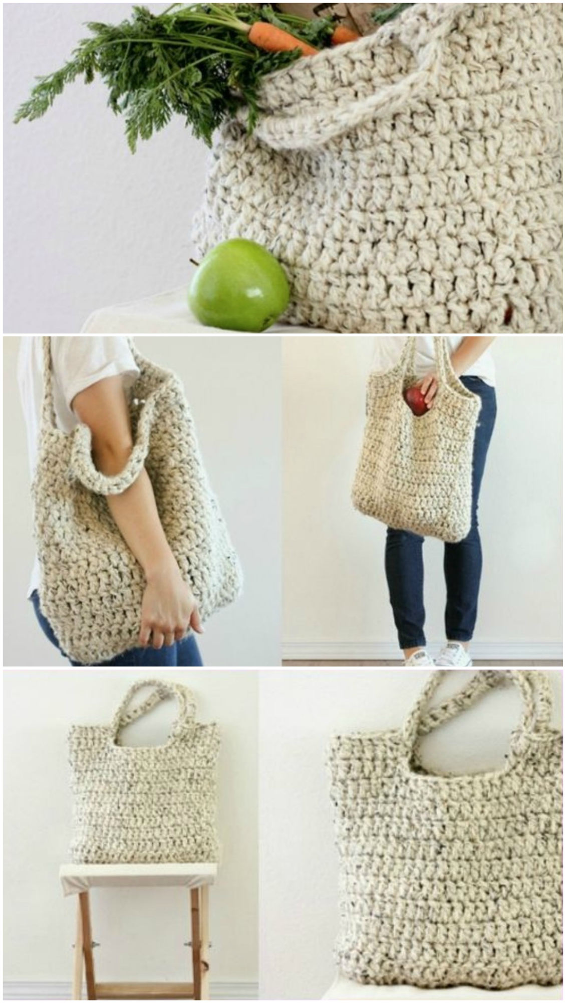 Crocheted Totes Patterns Printable