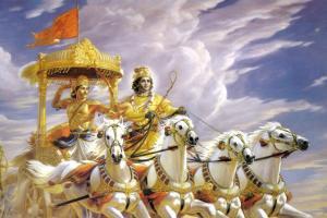 Bhagvad Gita. Representational image