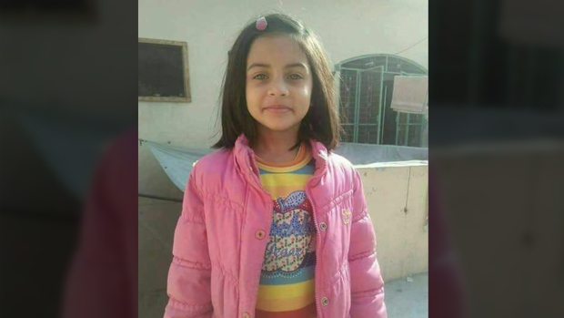 Zainab Ansari went missing last week while going to a nearby home for Quranic studies. Credit: Imran Khan/Twitter