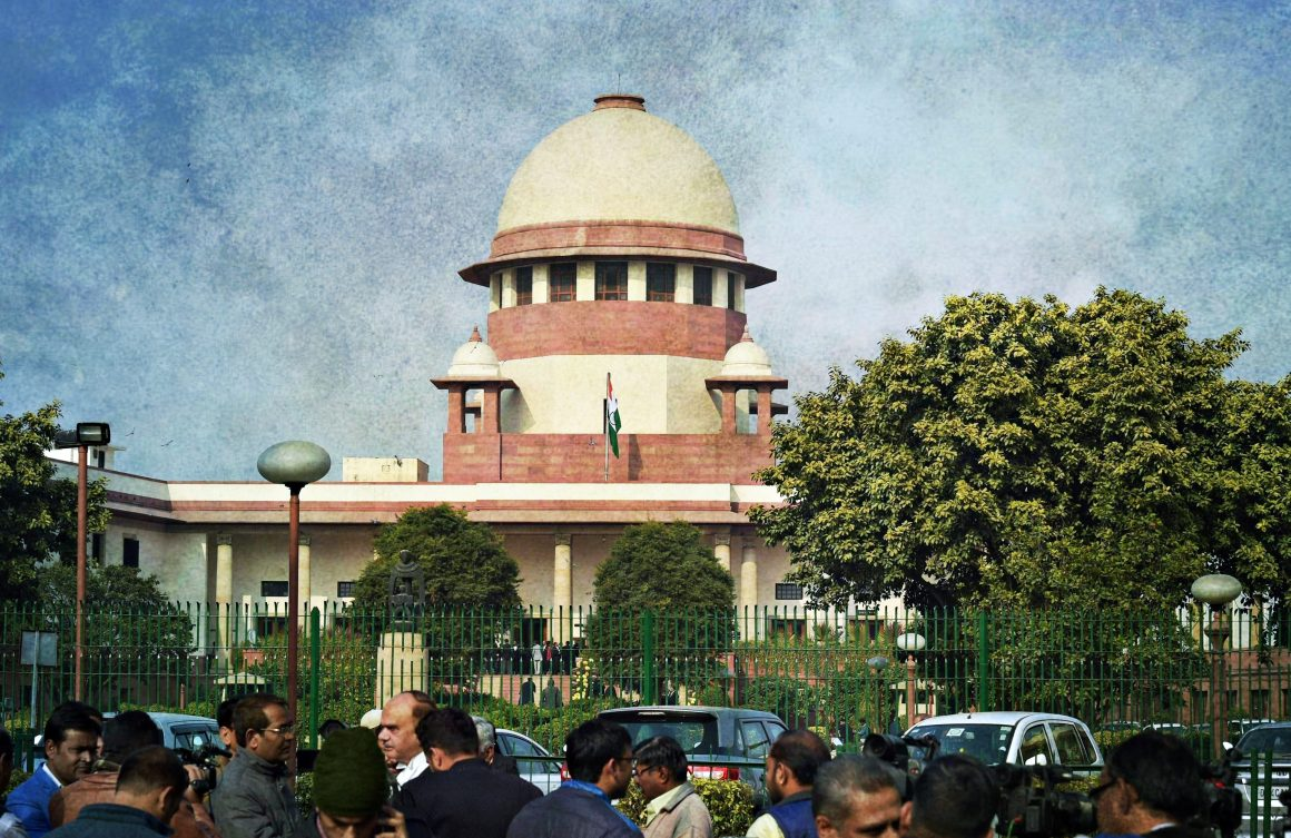 A view of Supreme Court of India in New Delhi on Friday. Credit: PTI/Atul Yadav