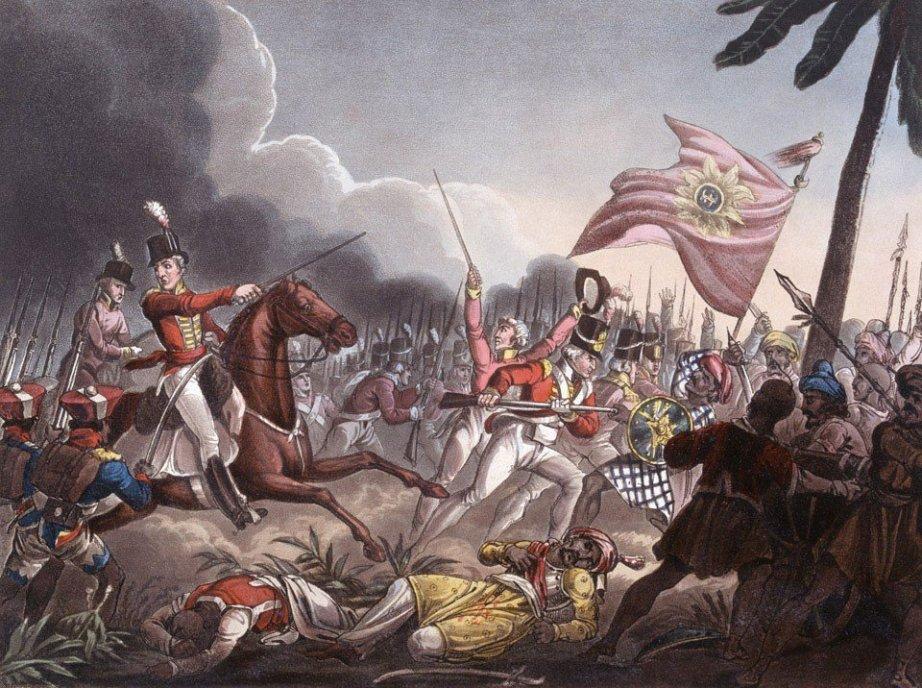 Anglo-Maratha war. Credit: Wikimedia Commons