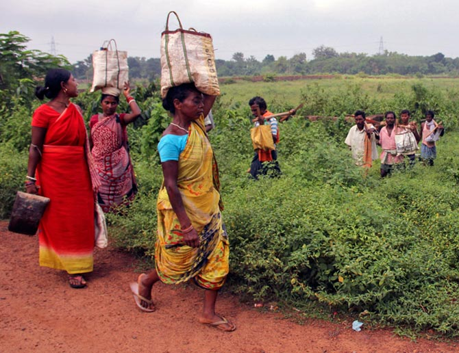 Forest officials have been known to lathi-charge villagers and deploy bulldozers and trained elephantsin order to evict them from forest lands.