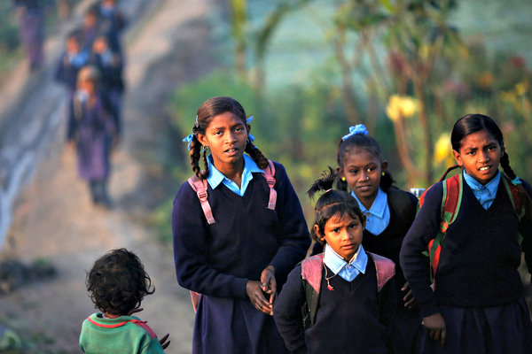 Union government has unprecedentedly merged elementary and secondary education, thereby diluting the provisions of the RTE Act. Credit: Reuters