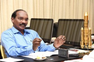 K. Sivan, chairman of the Indian Space Research Organisation. Source: Twitter
