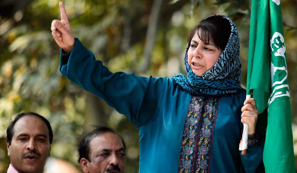 Jammu and Kashmir chief minister Mehbooba Mufti. Credit: Reuters